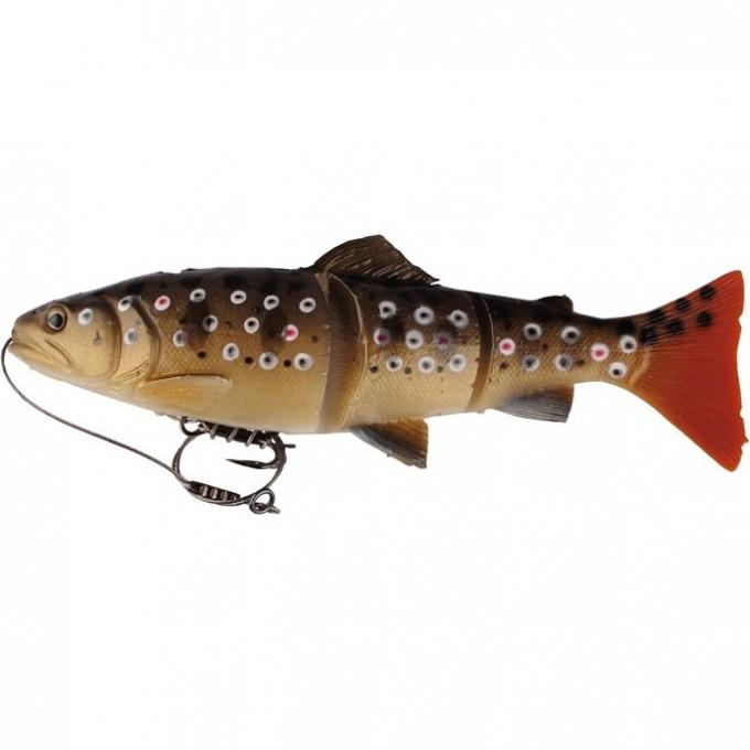 Приманка SAVAGE GEAR 3D Line Thru Trout 30 MS 03-Dark Brown Trout 48798
