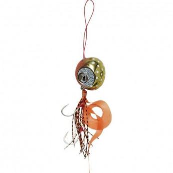 Приманка SAVAGE GEAR Cuttle Eye 135g Orange Glow gold