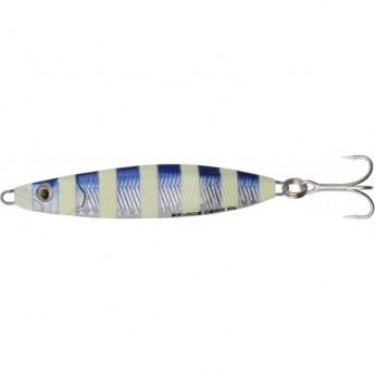 Пилькер SAVAGE GEAR Psycho Sprat 35g 04-Blue Glow Zebra