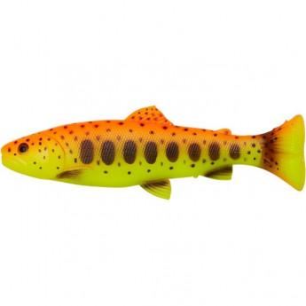 Приманка SAVAGE GEAR 3D Craft Trout Pulsetail 20cm 104g 1шт Gold Amb