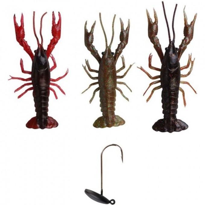 Приманка SAVAGE GEAR 3D Crayfish Kit 8cm 3+1 57633