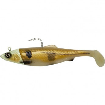 Приманка SAVAGE GEAR 3D Herring Big Shad 25cm 300g 1+2pcs Glow Haddock