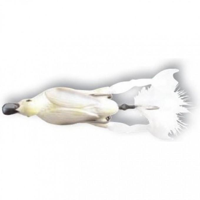 Приманка SAVAGE GEAR 3D Hollow Duckling weedless L 10cm 40g 04-White 57655