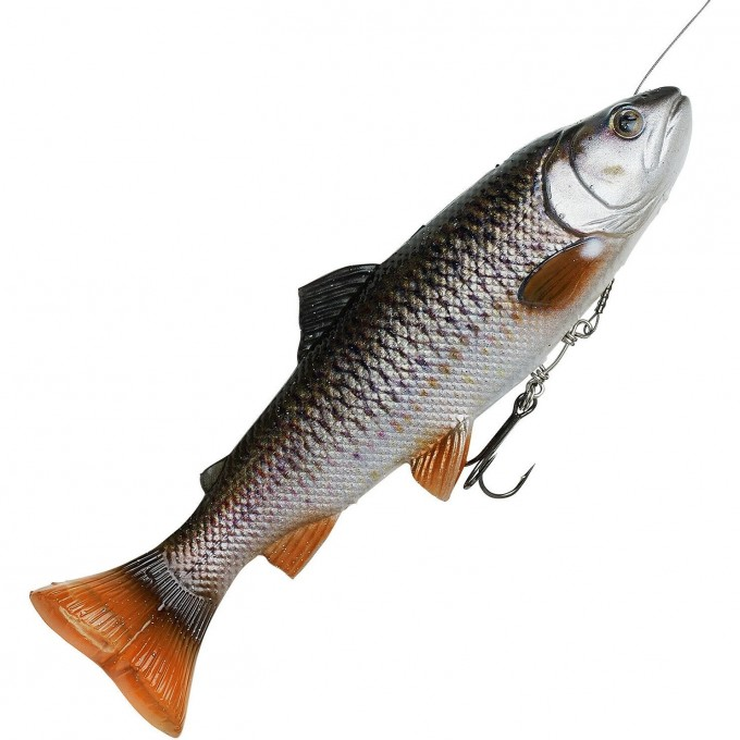 Приманка SAVAGE GEAR 4D Line Thru Pulsetail Trout 20cm 102g SS Chub 61982