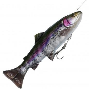 Приманка SAVAGE GEAR 4D Line Thru Pulsetail Trout 16cm 51g SS Rainbow Trout