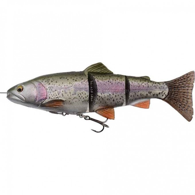 Приманка SAVAGE GEAR 4D Line Thru Trout 20cm 98g MS 01-Rainbow 57393