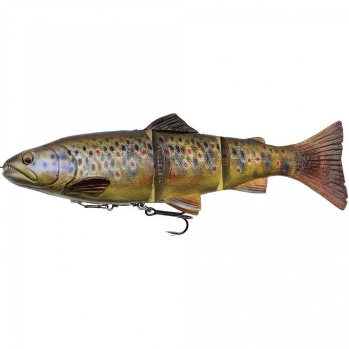 Приманка SAVAGE GEAR 4D Line Thru Trout 15cm 35g SS 15cm 40g MS 03-Dark Brown Trout 57387