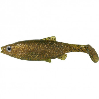 Приманка SAVAGE GEAR LB Roach Paddle Tail 12,5cm 1шт Muddy Roach