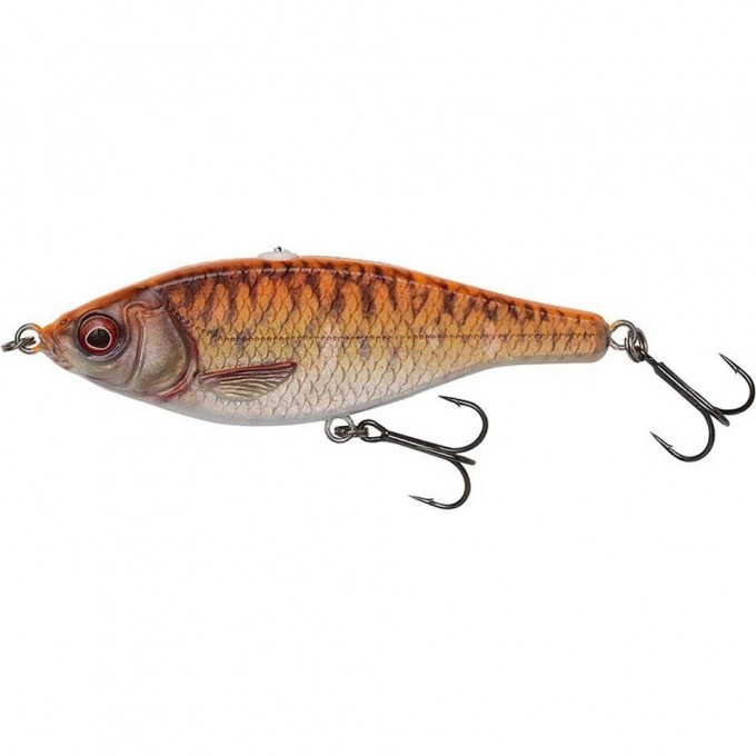 Воблер SAVAGE GEAR 3D Roach Jerkster 115 11.5cm 39g SS 06-Gold Fish PHP 62230